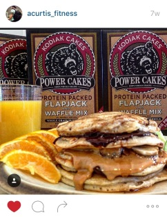 Kodiak Cakes high protein pancake recipe