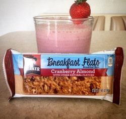 strawberry protein smoothie recipe quaker breakfast flat