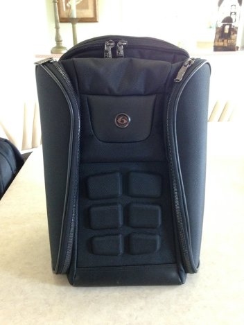 ace elite luxury backpack stealth black fitness health lifestyle