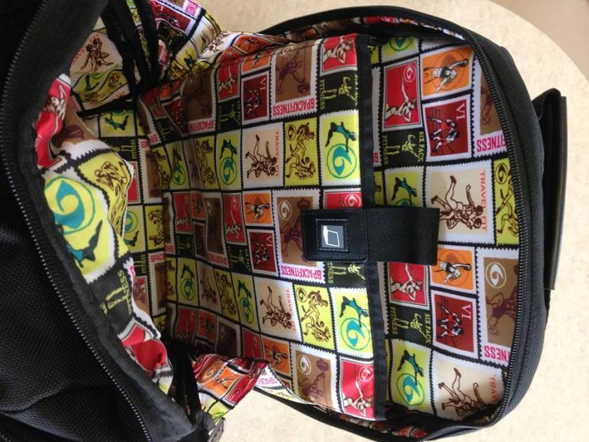 ace backpack inside