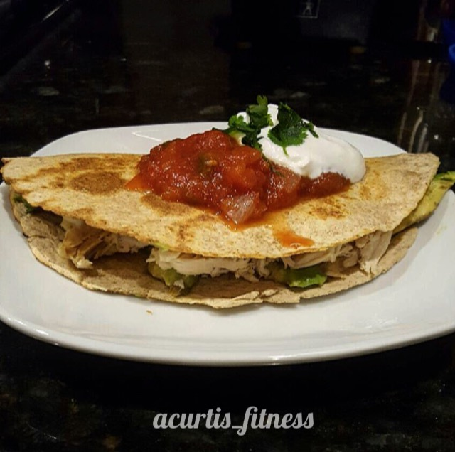healthy quesadilla recipe chicken cajun shrimp mexican