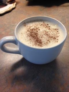 high protein vanilla cinnamon cappuccino