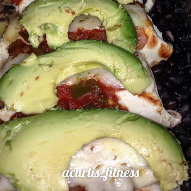 Enchiladas with Black Beans & AvocadoRecipe
